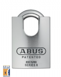Abus 83CS/80 Pffafenhain Close Shackle Steel Padlock